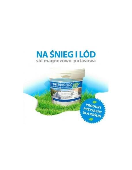 Sól drogowa magnezowo - potasowa wiaderko 6,5kg Kłodawa