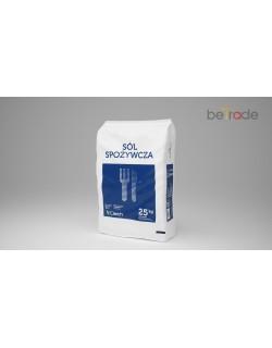 Sól warzona spożywcza Ciech worek 25kg 1 tona