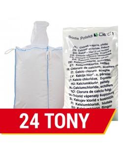 Chlorek wapnia płatki Ciech 24 tony ( big bag 1 tona lub worek 25kg)