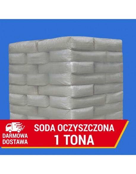Soda oczyszczona spożywcza | Wodorowęglan sodu 25kg. 1 tona