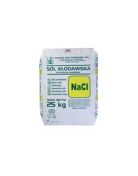 Sól Kamienna Paszowa 0N (worek 25kg) paleta 1125kg Kłodawa